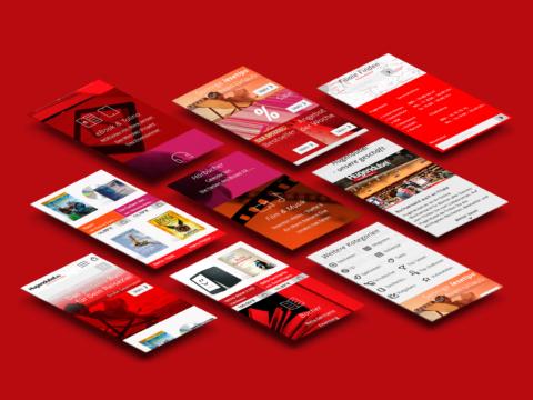 Hugendubel web concept
